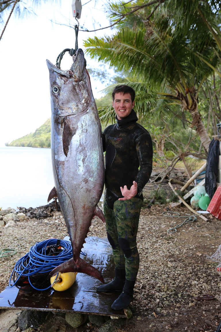 Dogtooth tuna spearfishing record ibsrc for Is tuna fish good for dogs